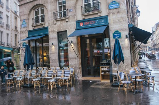 Organic Creperie in Paris