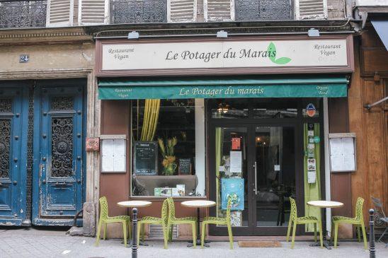 Vegan restaurant in Paris France