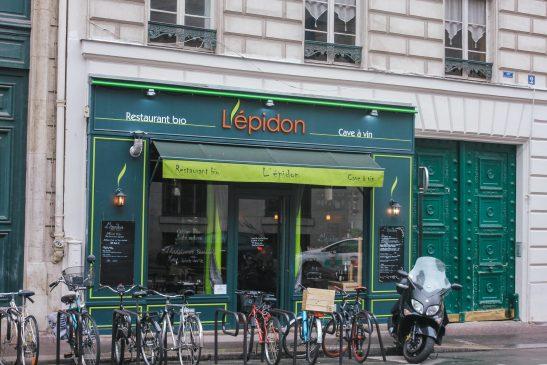 Organic restaurant and wine in Paris