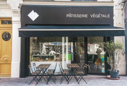 Vegan breakfast pastries in Paris