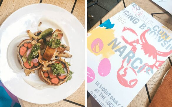Narcissa farm to table restaurant NYC