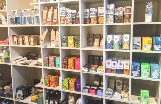 Fair trade chocolate, home decor and other goods in Lucerne Switzerland