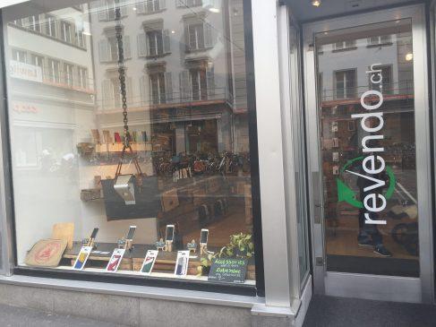 Eco friendly store in Lucerne Switzerland