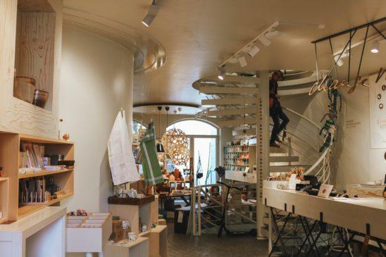 Fair Trade shop in Lucerne Switzerland