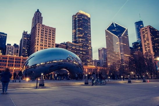 Sustainable things to do in Chicago - Millennium Park