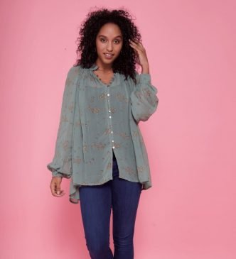 Symbology Fair Trade ethically made blouse from Made Trade
