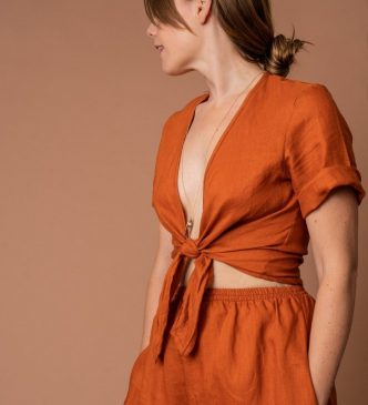 Sustainable top from ethical online shop Made Trade