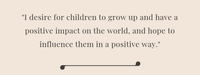 Quote from Anitha of Ethical Children's Clothing Brand, The Open Road