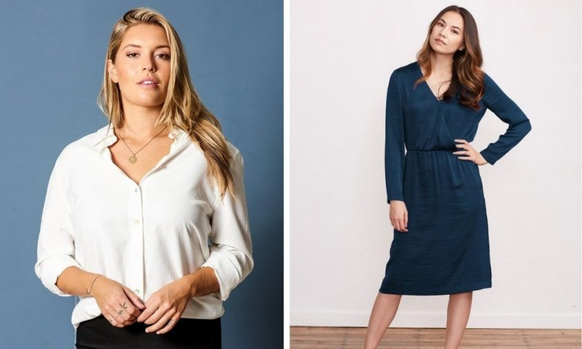 BRASS - shirts, dresses and skirts for professional clothing