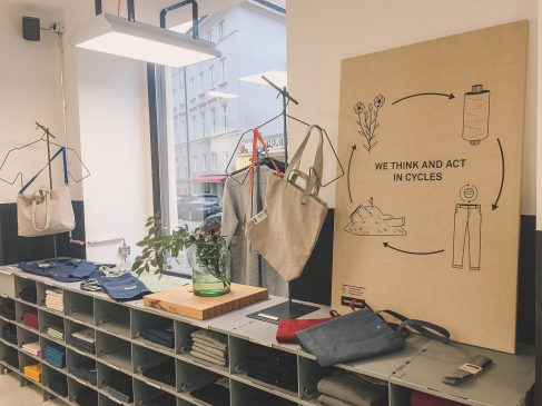 Freitag sustainable fashion store