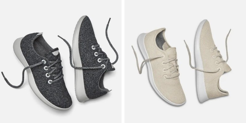 Allbirds - sustainable sneakers