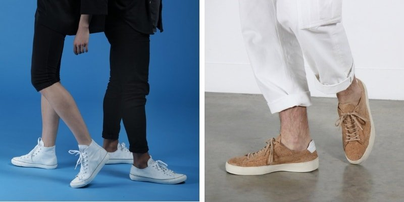 Po Zu eco-friendly ethical sneakers
