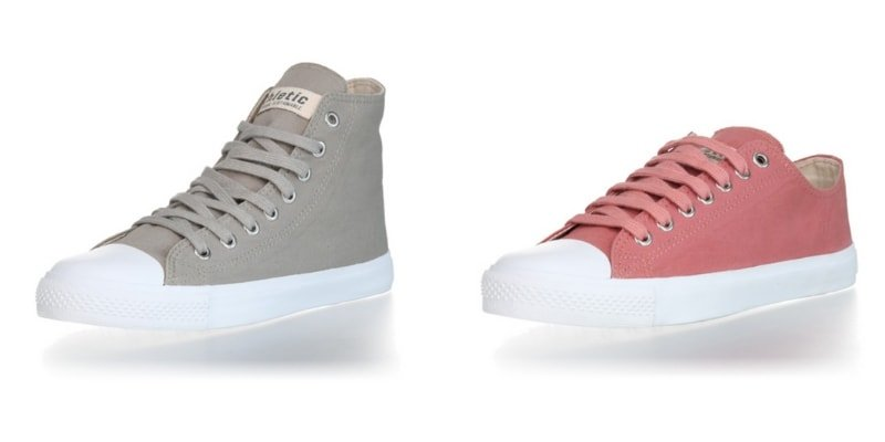 Ethletic sunstainable vegan ethically manufactures sneakers