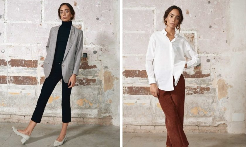 Sunad - sustainable blouses, button-downs and jackets for work