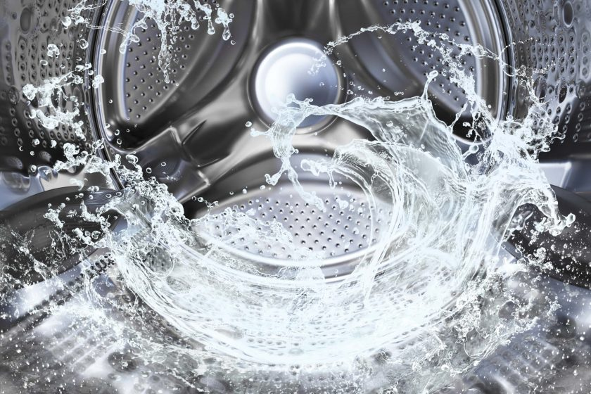 washing machine - microfibres