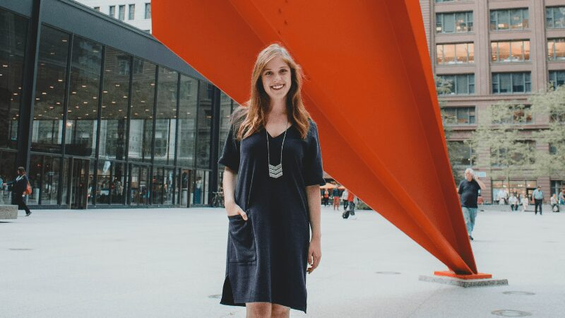 About Elizabeth - ethical fashion blogger and content marketing specialist for ethical brands