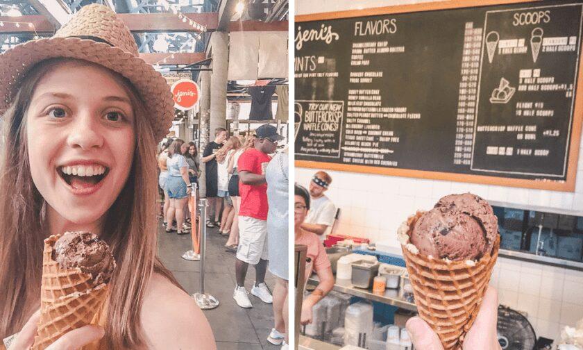 Jeni's Ice Cream in Nashville