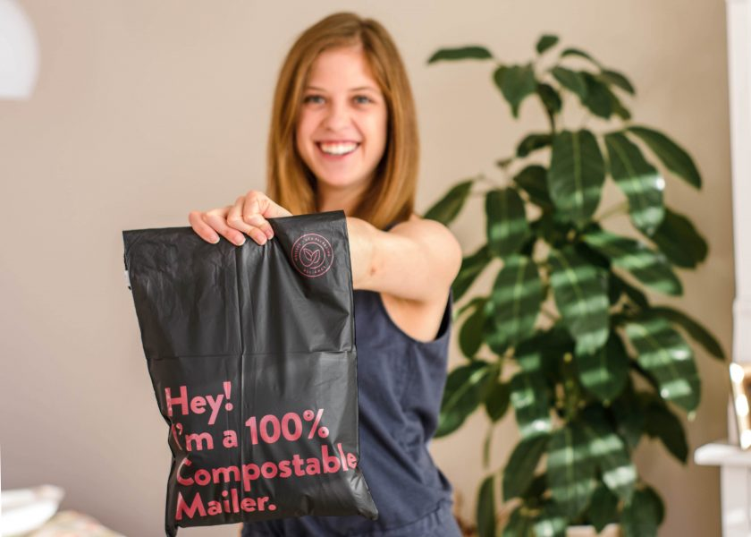 sustainable compostable mailers from noissue