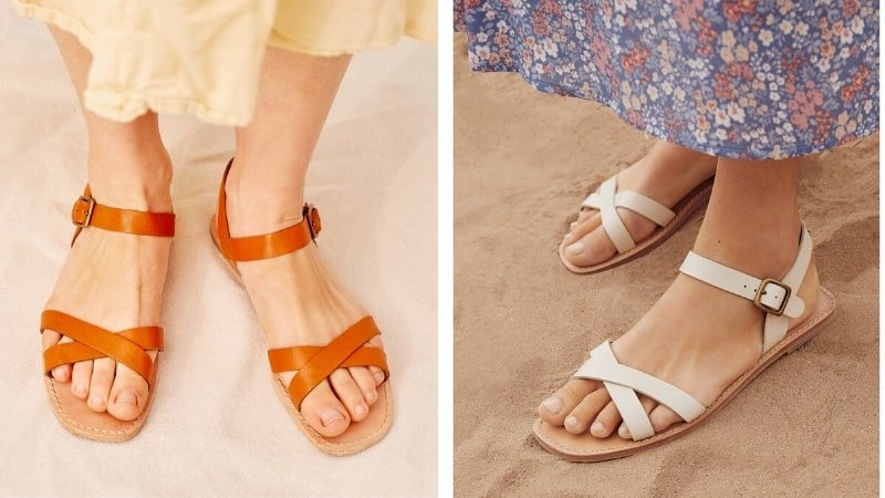 Christy Dawn recycled sandals