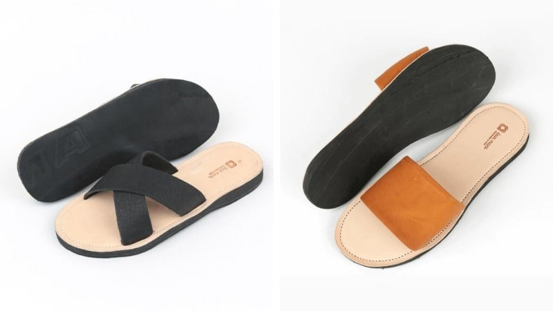 Deux Mains fair trade sandals