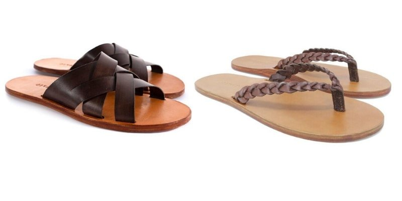Jivanas fair trade vegetable tanned sandals
