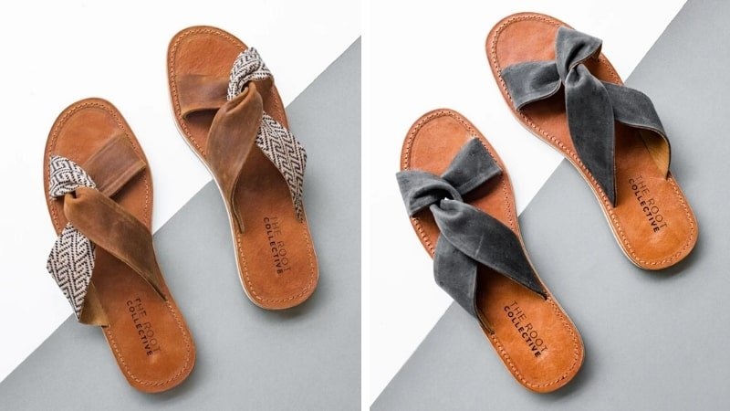 The Root Collective fair trade sandals