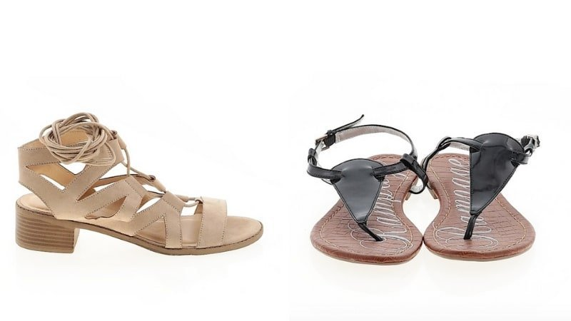 ThredUp Secondhand Sandals