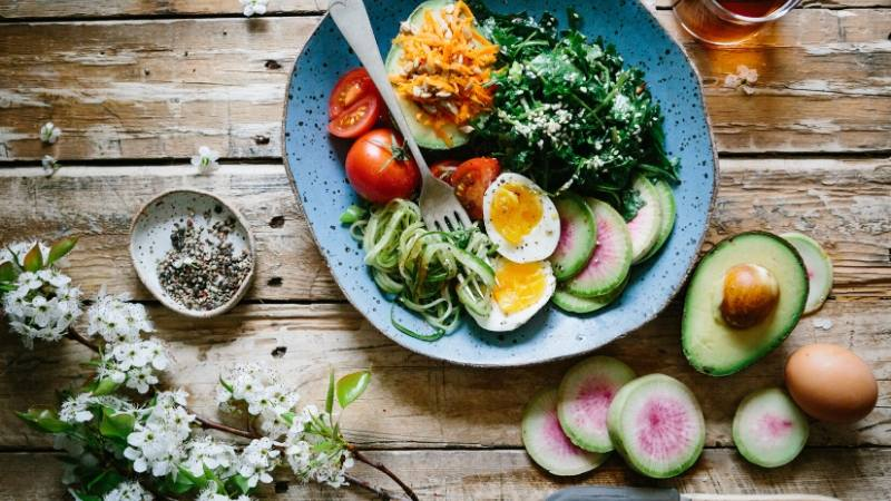 Self Care Checklist: Eating healthy food