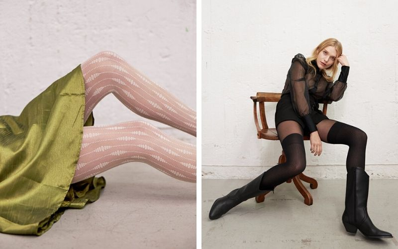 Recycled hosiery from Swedish Stockings