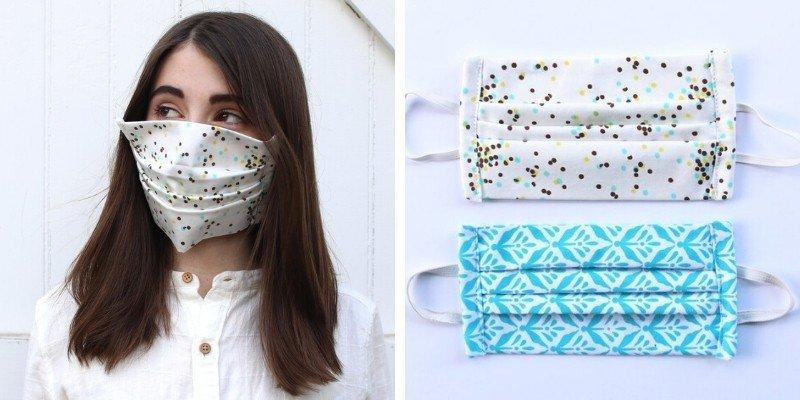 Plover reusable organic cotton face masks