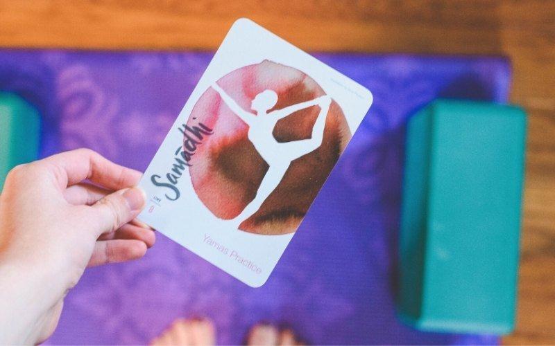 OM Matters Yoga Card