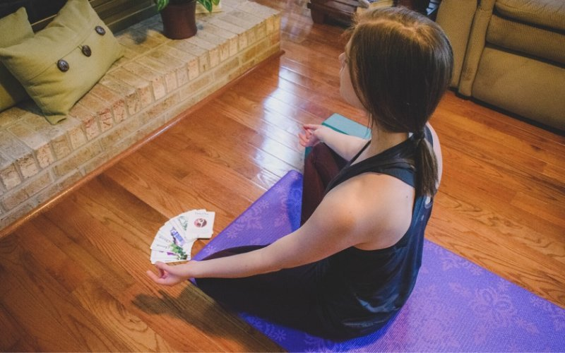 Practicing meditation - 8 Limbs of Yoga