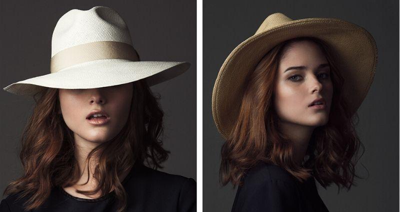 Sustainable hats from G Viteri