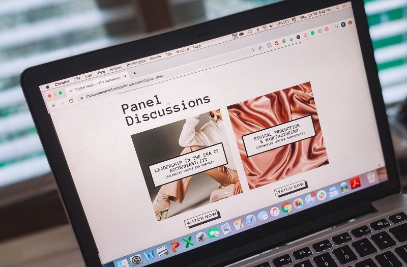 Sustainable Fashion Forum online panel discussions