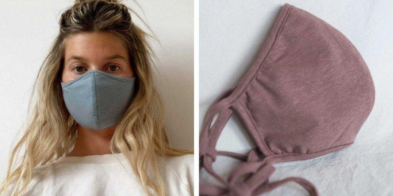 Arraei Collective hemp face masks
