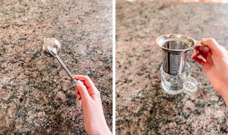 Zero waste tea - tea steeper