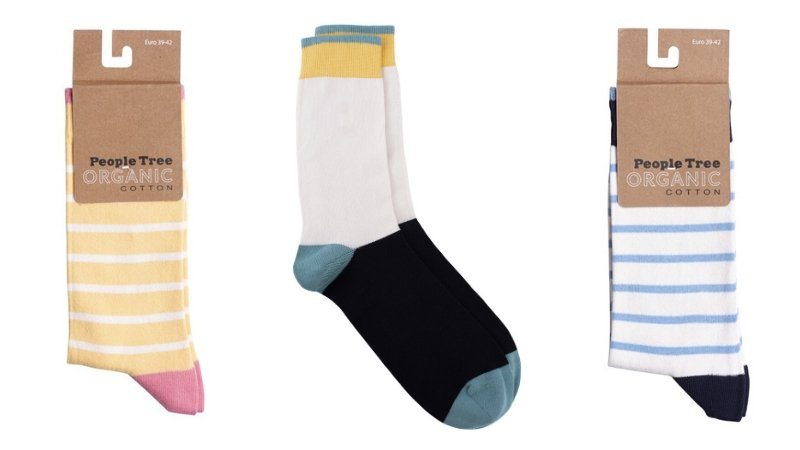 People Tree organic eco socks