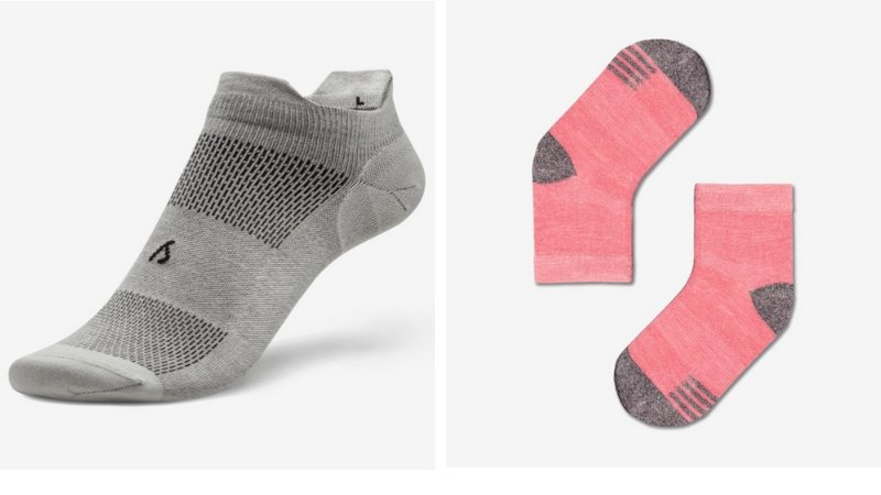 Allbirds sustainable socks made from wool, Tencel, and recycled materials
