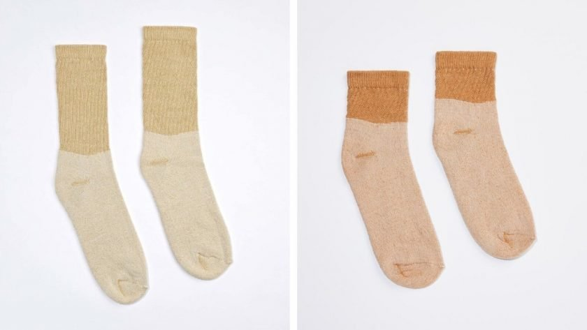 Harvest & Mill eco-friendly socks made from heirloom cotton