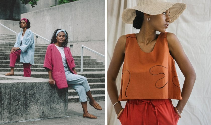 black-owned sustainable and ethical fashion brands