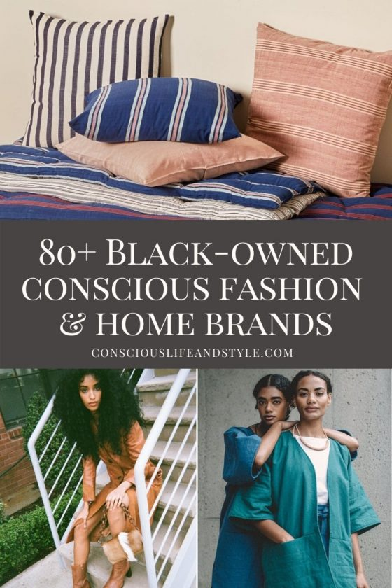 Black-owned conscious fashion and home brands