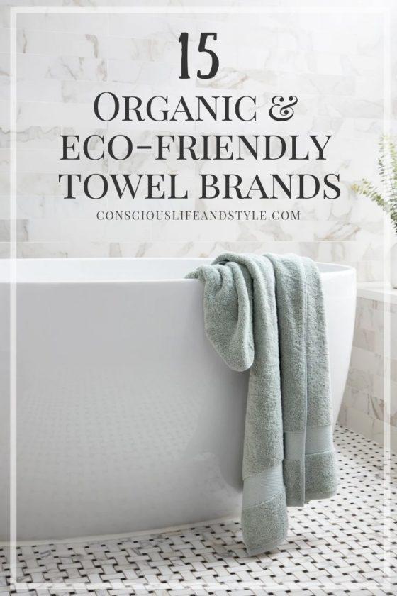 15 eco-friendly towel brands