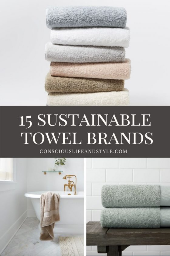 15 sustainable towel brands