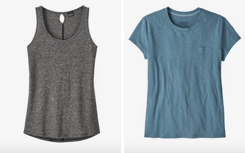 Sustainable and ethical basics from Patagonia