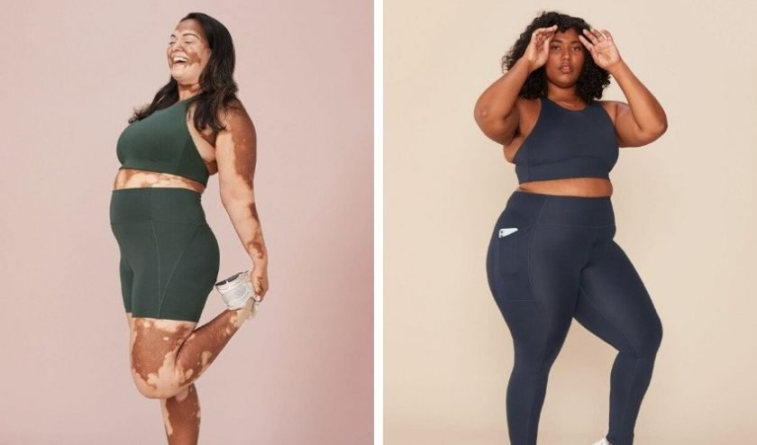 Sustainable size inclusive activewear from Girlfriend