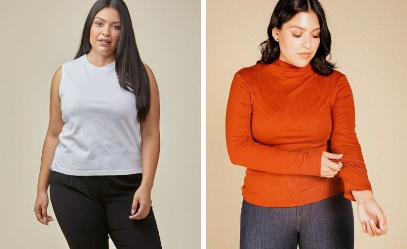Ethical and eco-friendly size-inclusive clothing from Poplinen