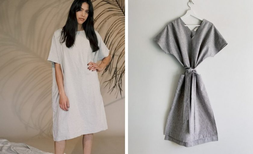 sustainable dresses from Two Days Off