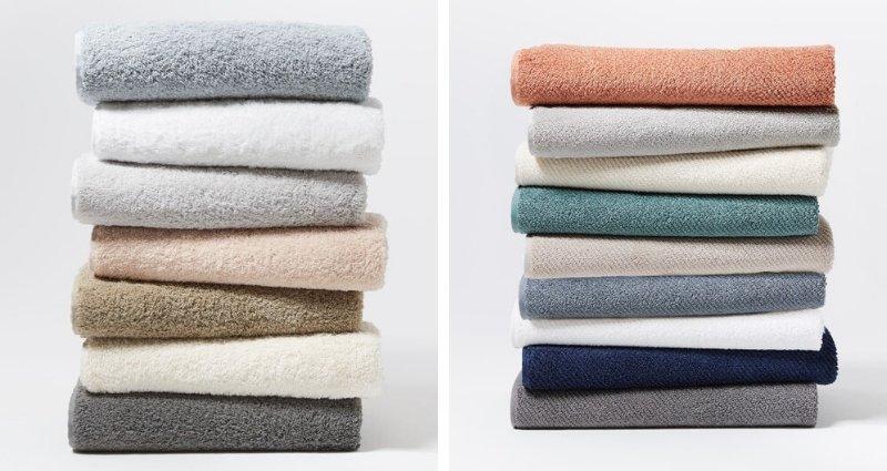 Coyuchi organic cotton towels