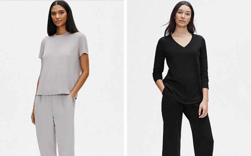 Sustainable and ethical basics from Eileen Fisher