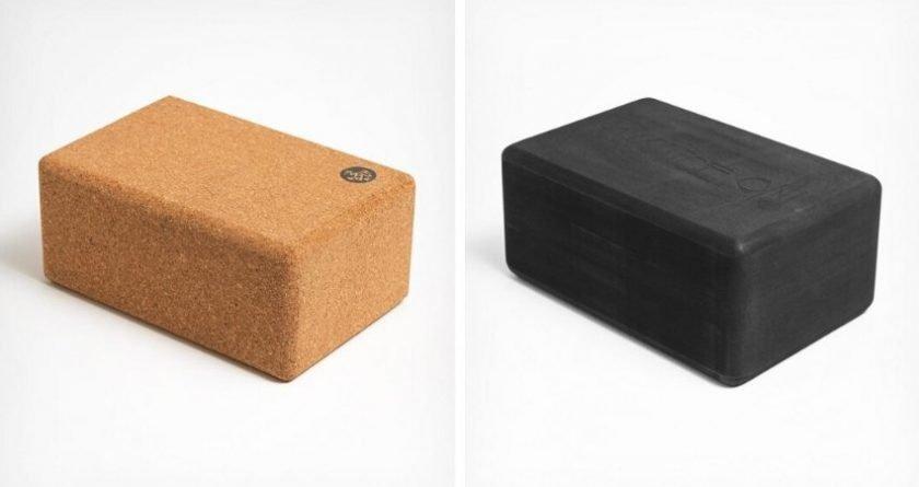 Manduka eco friendly recycled and cork yoga blocks